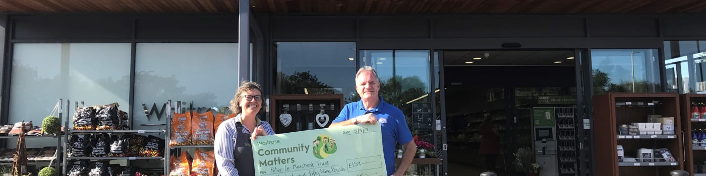 Waitrose Community Fund Donation